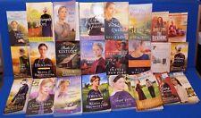 Amish Fiction Romance Book Lot Wanda Brunstetter Beth Shriver Wiseman Kelly Long