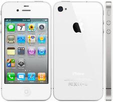 Face arrière Iphone 4 - blanche - rear cover battery - vitre