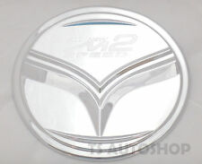 Chrome Fuel Oil Cap Tank Cover Trim Fit Mazda 2 4dr Sedan 2015 2016 2017