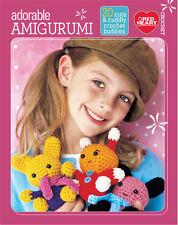 Adorable Amigurumi, Red Heart Toy Dolls Crochet Pattern Booklet 51295