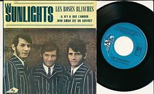 """LES SUNLIGHTS 45 TOURS EP 7"""" FRANCE LES ROSES BLANCHES"""