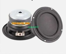 "1pcs 4""inch 115mm Woofer bass speaker 6ohm 6Ω 60W Subwoofer loudspeaker"