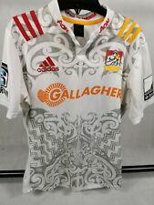 Mens Rugby Shirt Jersey WAIKATO Chiefs New Zealand Adidas Size L