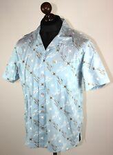 Sir Benni Miles mens casual shirt Size S Short Sleeve