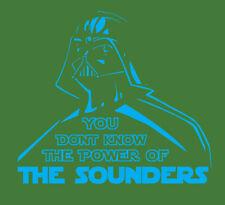 Darth Vader Seattle Sounders shirt Star Wars MLS Soccer Football Ruidíaz Lodeiro