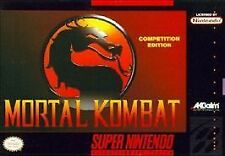 Mortal Kombat (Super Nintendo Entertainment System, 1993)