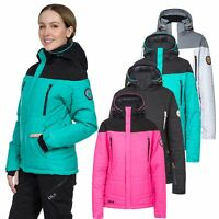 DLX Womens Ski Jacket Waterproof Insulated Snow Coat For Ladies