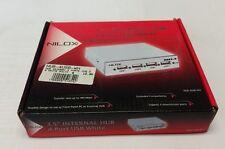 "SK NILOX HUB-4USB HUB Interno Bianco 3,5"" 4 Porte USB"