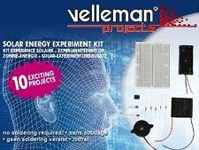Velleman EDU02 SOLAR ENERGY 10 EXPERIMENTS KIT
