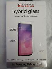 Zagg Invisible Shield - Hybrid Glass - Samsung Galaxy S10e NEW / FREE SHIP