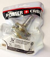 """Porter Cable 43499PC 1/4"""" Tongue & Groove Assembly Router Bit 1/2"""" Shank"""
