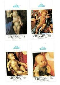 Grenada - 1991 - Christmas Durer - Set Of 4 Stamps - MNH