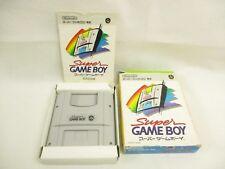 SUPER GAME BOY Item ref/111 Super Famicom Nintendo Japan Game sf