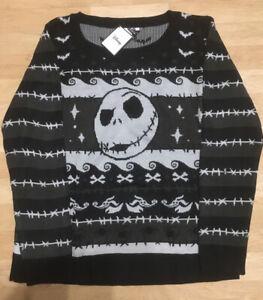 Nightmare Before Christmas Pullover Gr L NEU