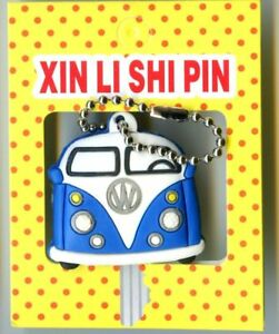 New Key cover keychain Car Series VW Van Blue