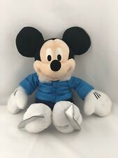 """MICKEY MOUSE 19"""" Winter Ice Skate Disney Store Plush Doll NEW W TAGS"""