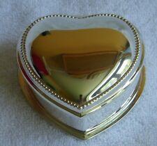 "Vintage Avon ""Tender Memories Trinket Box"" NIB"