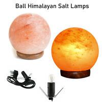 Natural Himalayan Salt Lamp Crystal Light Genuine Healing Relax Lamp Best Gifts