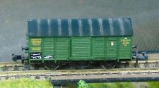 K.Bay.Sts.B. covered goods wagon    by MINITRIX    N Gauge   (3)