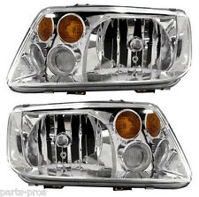 New Replacement Headlight Assembly PAIR / FOR LATE 2002-05 JETTA WITH FOG LAMPS