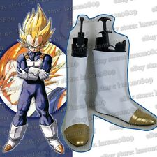 Dragon Ball Z Kai Vegeta Cosplay Shoes Boots White Short Boots