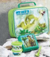 Tupperware Ice Age 3 Dawn of the Dinosaur Lunch Bag Set Brand New
