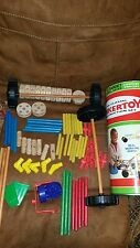 Vintage The Classic Tinkertoy Construction set + more from other set