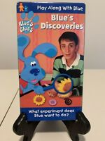 Blues Clues - Blues Discoveries VHS