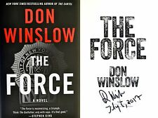 Don Winslow~PERSONALLY SIGNED & DATED~The Force~1st/1st HC