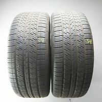 2x Continental 4x4 Contact MO 275/55 R19 111V DOT 2118 6,5 mm Sommerreifen