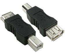 USB 2.0A HEMBRA A B macho pc impresora Cámara Cable adaptador,AF BM Conector del