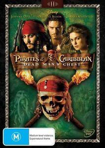 Pirates Of The Caribbean - Dead Man's Chest (DVD, 2011) Johhny Depp