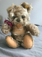 "Steiff Bear Original Vintage 10"" Jointed Good Condition"