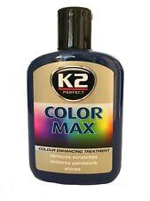 Dunkelblaue Autopolitur Farbpolitur Wachspolitur Farbpigme K2 Color Max 32,50€/l