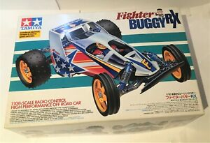 Vintage Tamiya 1/10 2wd Fighter Buggy RX #58184 (1996) - part built only