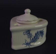Emile Galle - Jugendstil Keramik - Tintenfass in Herzform