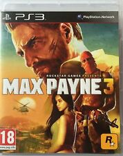 Max Payne 3 PS3 Comme neuf