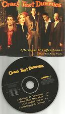 CRASH TEST DUMMIES Afternoons & Coffeespoons w/ 3 RARE LIVE TRX USA CD Single