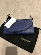Hugo Boss Blue Leather Bag Bnwt Rrp £260