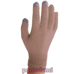 Women's Gloves Touch Screen Display Capacitive Sensors 3 Finger Smartphone Gift