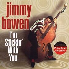 I'm Stickin' With You -- Jimmy Bowen-- Brand New Oldies Music CD