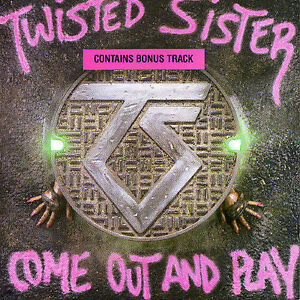 TWISTED SISTER: COME OUT AND PLAY CD GERMAN IMPORT DEE SNIDER OUT OF PRINT