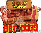 Hot Dogs Bacon Wrapped Decal 14