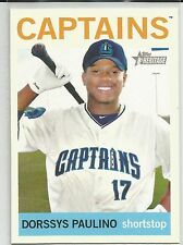 Dorssys Paulino Cleveland Indians 2013 Topps Heritage Minor League
