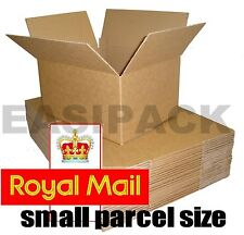 More details for selection of royal mail small parcel size postal cardboard boxes *all sizes*