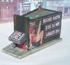 Downtown Deco O Scale Boobies & Beer 2 kit Combo Special + free sidewalks Save!