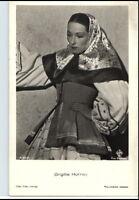 BRIGITTE HORNEY Schauspielerin ca. 1950/60 Porträt-AK Film Bühne Theater Foto