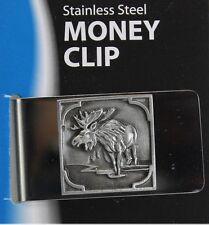 Large Money Clip Moose
