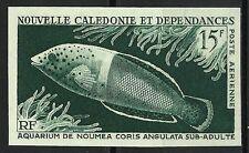 NOUVELLE CALEDONIE POISSONS CORIS ANGULATA FISHES ESSAI COLOR PROOF ESSAY **1965