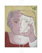 """PICASSO PABLO - HEAD OF A WOMAN, 1924 - ART PRINT POSTER 14"""" x 11"""" (4170)"""
